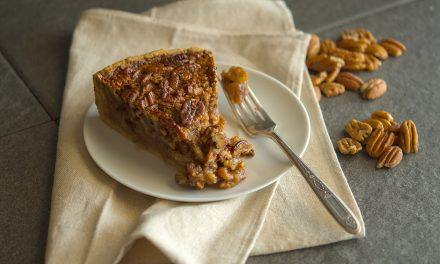 Deep Dish Bourbon Pecan Pie